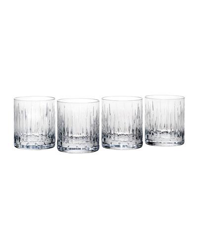 Soho Double Old-Fashioned Glasses, Set of 4