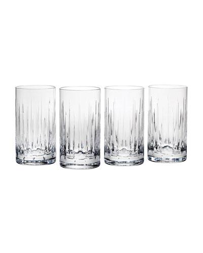 Soho Highball Glasses, Set of 4