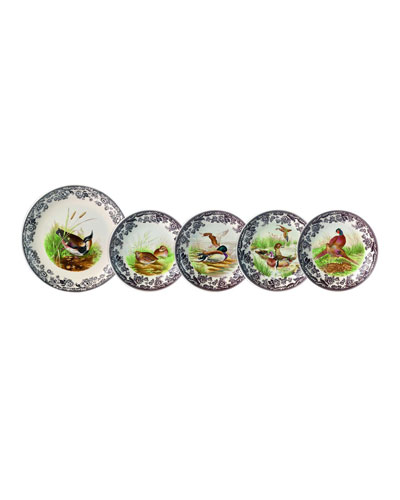 Woodland Birds 5-pc Bowl Set