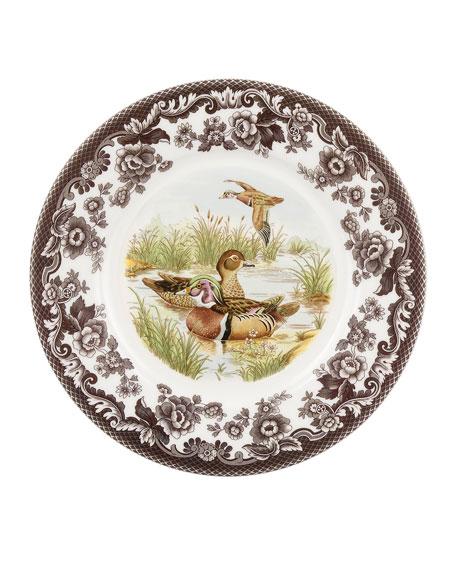 Spode Woodland Duck Luncheon Plate