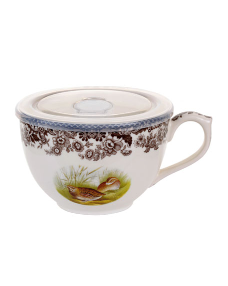 Spode Woodland Wild Quail Jumbo Cup with Lid
