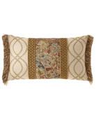 Dian Austin Couture Home Viburnum Pieced Oblong Pillow