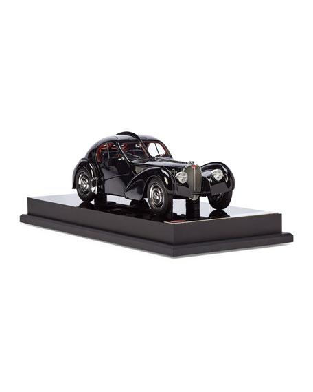 Ralph Lauren Home Ralph Lauren's 1938 Bugatti Type 57SC Atlantic Coupe Miniature Scaled Car  Replica