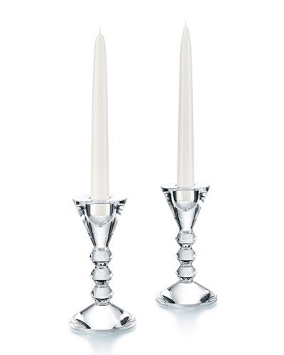 Vega Candlestick Holders, Set of 2