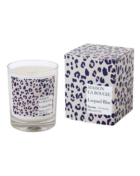 MAISON LA BOUGIE 6.7 oz. Leopard Blue Scented Candle