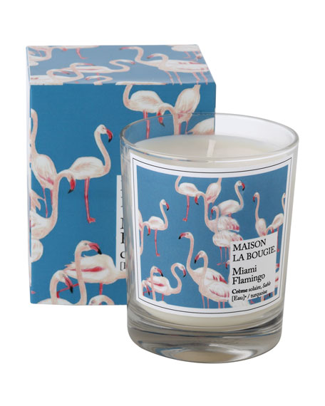 MAISON LA BOUGIE 6.7 oz. Miami Flamingo Scented Candle