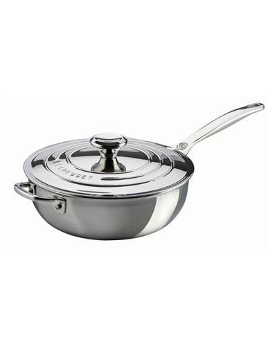 Helper Handle Sauce Pan with Lid