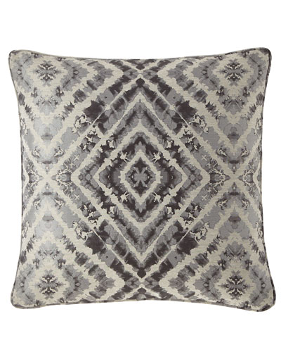Plumes Diamond Decorative Pillow
