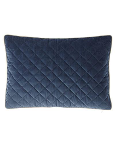 Liberty Velvet Oblong Pillow