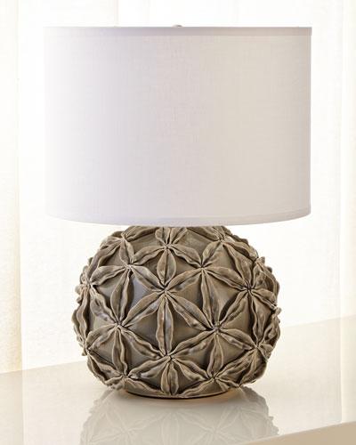 Star Flower Ceramic Table Lamp