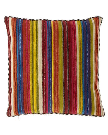 MacKenzie-Childs Zanskar Square Pillow