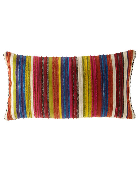 MacKenzie-Childs Zanskar Lumbar Pillow