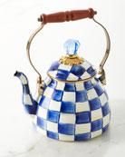 MacKenzie-Childs Royal Check 2-Qt. Tea Kettle