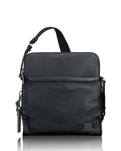 Men's Stratton Leather Crossbody Bag