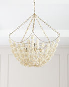 Clamrose Shell Chandelier