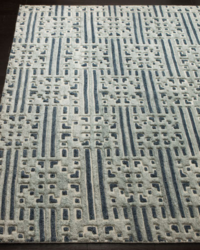 Julius Hand-Knotted Rug, 6' x 9'