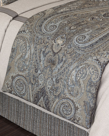 "Eastern Accents Reign Bed Scarf, 90""L"