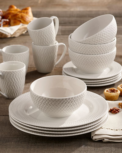 Bridgette 16-Piece Dinnerware Set