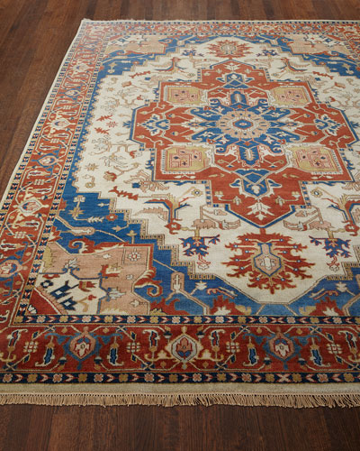 Glorious Hand-Knotted Rug, 5'6