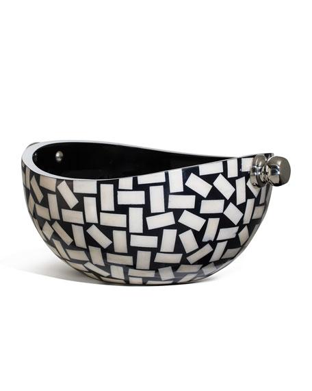 LADORADA Bone Domino Bowl