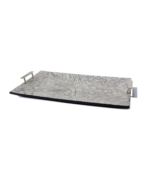 LADORADA Gray Almendro Large Tray