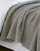 Matouk Orla Cotton-Wool Throw Blanket