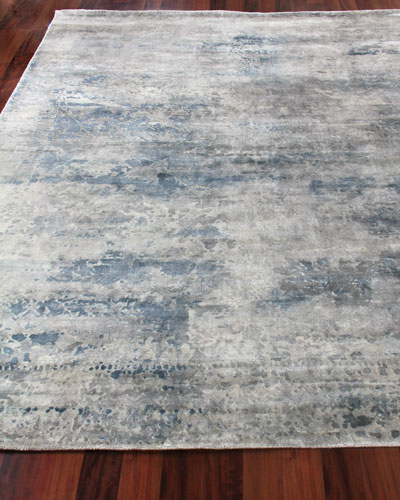 Yinlo Hand-Knotted Rug, 6' x 9'