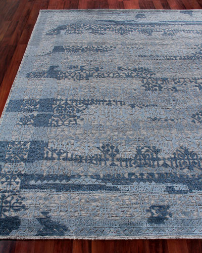 Baker Hand-Knotted Wool Area Rug, 10' x 14'