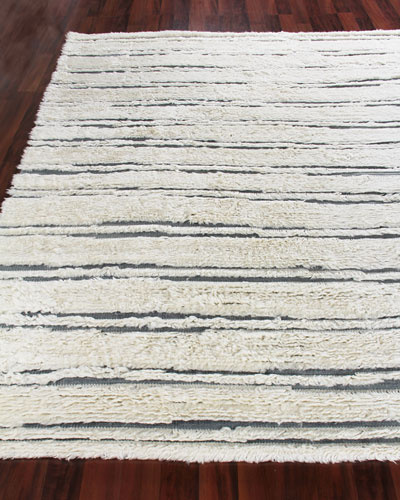 Romon Hand-Knotted Rug, 10' x 14'