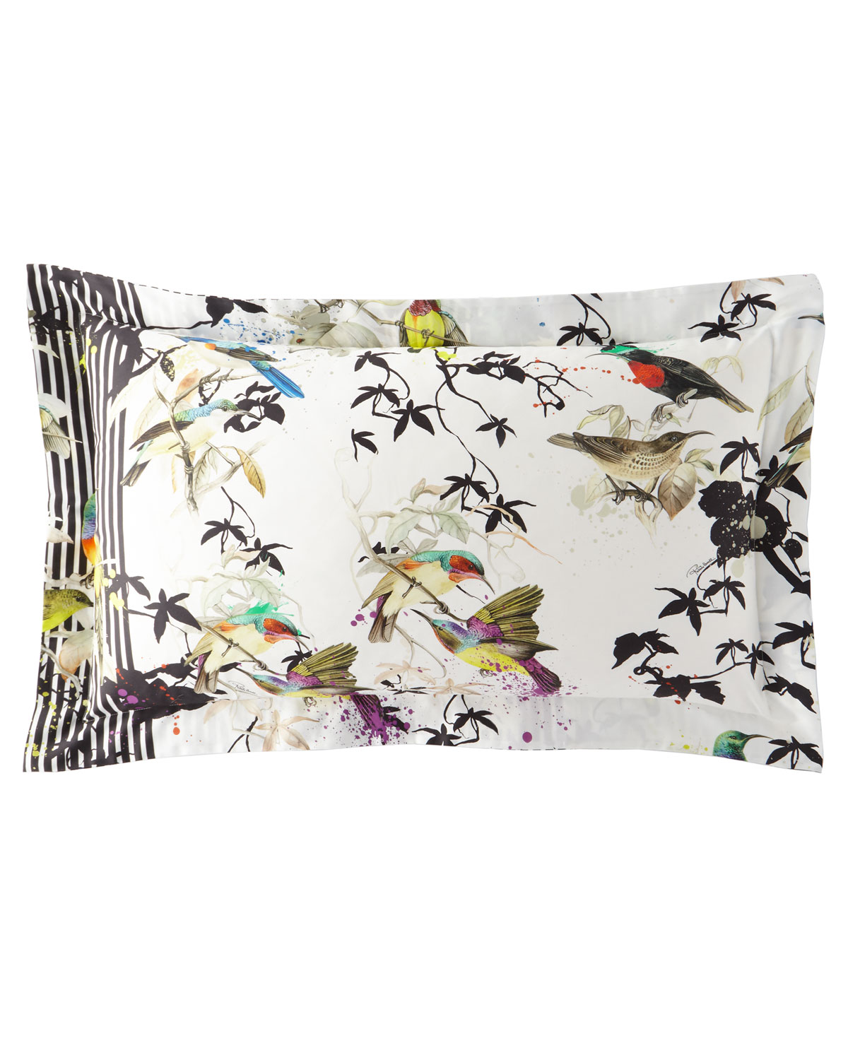Roberto Cavalli BIRDS RAMAGE KING SHAMS, SET OF 2