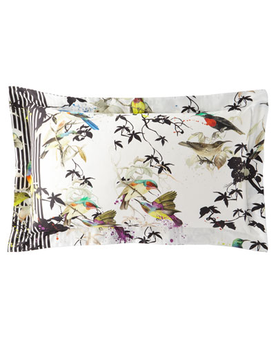 Birds Ramage Standard Shams, Set of 2