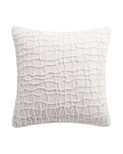 Habit Box Pleat Decorative Pillow