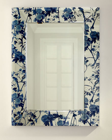 GTS Creative Limited Chinoiserie Printed Mirror