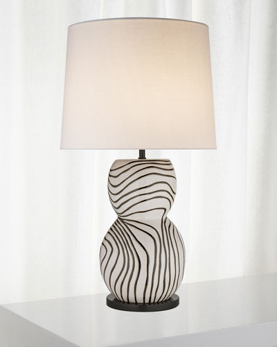 Balla Large Hand-Painted Table Lamp