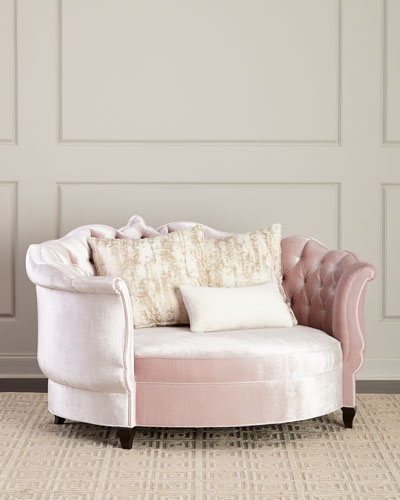 Isabella Blush Cuddle Chair