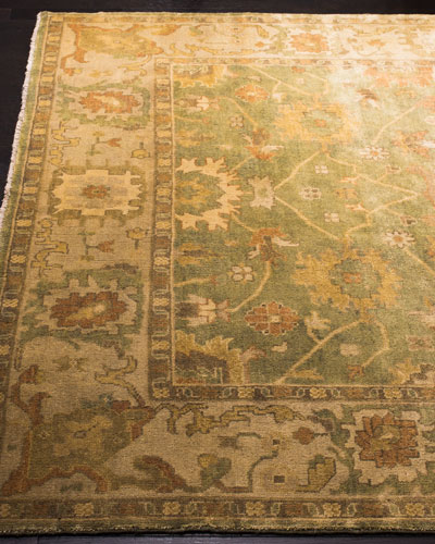 Valley Oushak Rug, 4' x 6'