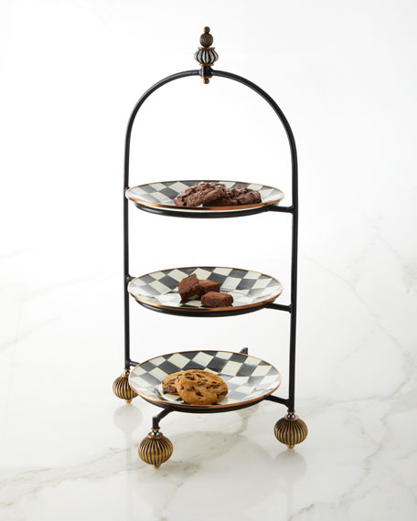 MacKenzie-Childs Large Plate Stand