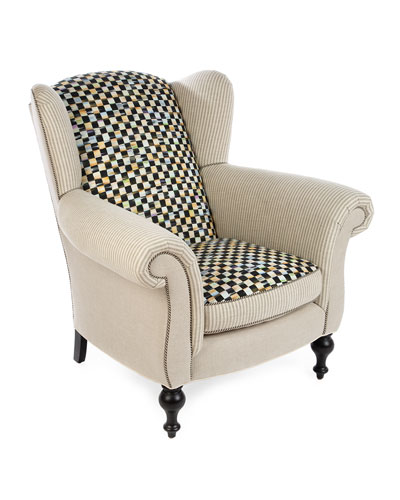Underpinnings Studio Wing Chair