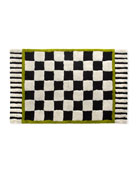 MacKenzie-Childs Courtly Check Large Bath Rug
