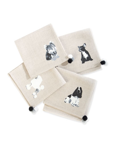 Hair of the Dog Cocktail Napkins, Set of 4