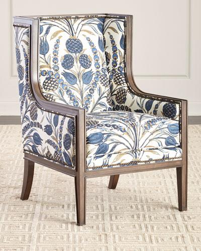 Nancy Linen Accent Chair