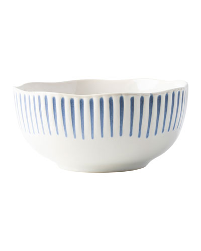 Sitio Stripe Cereal/Ice Cream Bowl