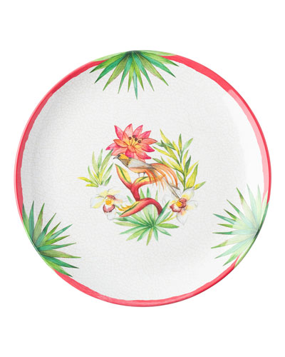 Flora and Fauna Dinner Plate