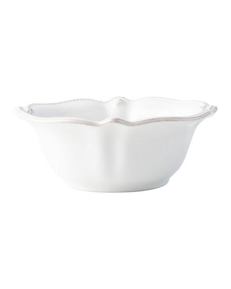 Juliska Berry and Thread Whitewash Cereal/Ice Cream Bowl