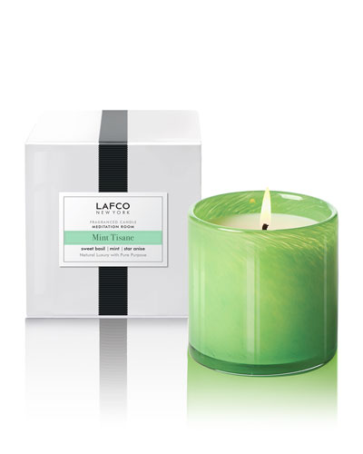 Mint Tisane Signature Candle, 15.5 oz./ 440 g