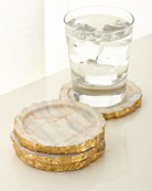 Century Marble Coasters, Set of 4