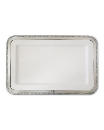 Medium Luisa Rectangular Platter