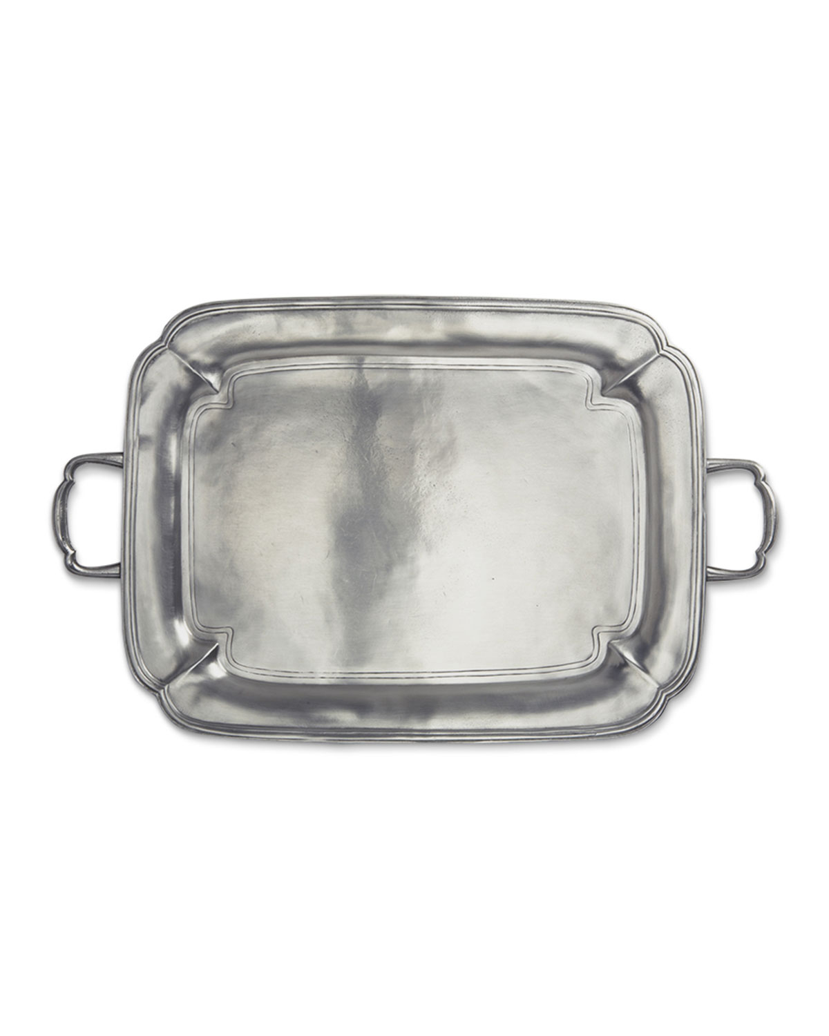 Match Clothing PARMA RECTANGLE TRAY WITH HANDLES