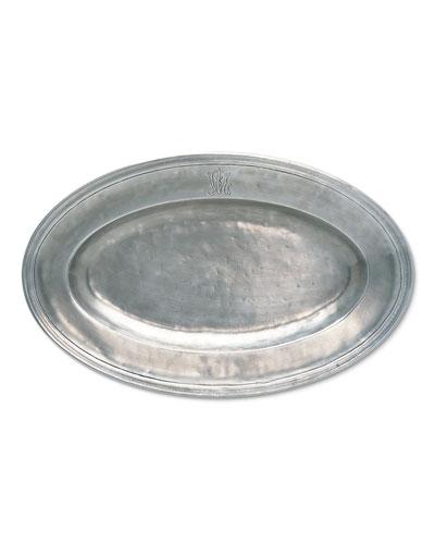 WL Oval Platter
