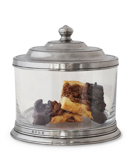 Match Glass Cookie Jar